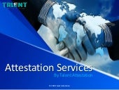 Certificate Attestation Services by Talent Attestation