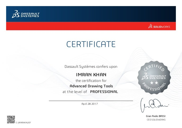 Certified Solidworks Professional Advanced Drawing Tools