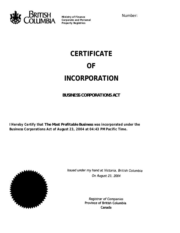 Certificateofincorporation 111124153108 phpapp01 thumbnail 4gcb1322149604 yadclub Images