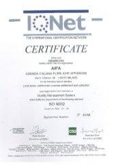 Certificazione di qualità AIPA di Daniele Santucci