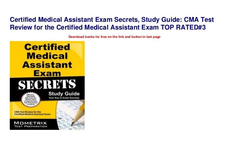 assistant medical study exam cma certified test secrets
