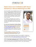 Certified Inbound Marketing Professional - Ruben Licera Jr