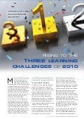 Certpoint Article: Rising To The Three Learning Challenges Of 2010