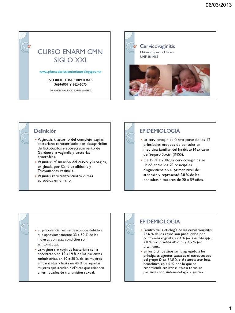 Practica candidiasis embarazo en clinica guia de el