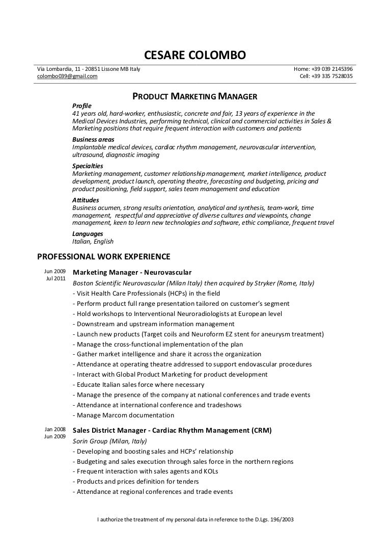 Modern Cardiac Rhythm Management Resume Pattern - Resume Ideas ...