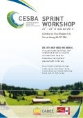 Cesba sprintworkshop - oct 13