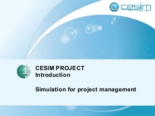 Cesim Project Project Management Simulation Game Guide Book