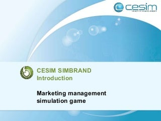 Cesim SimBrand Marketing Management Simulation Game Guide Book