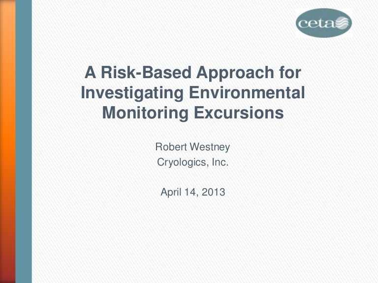 A Risk-Based Approach for Investigating Environmental ... on