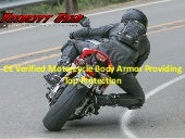 Ce verified motorcycle body armor providing top protection