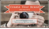 Create Your Brand for CEWit 2016 Indiana University