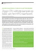 Ziggo  Customer Relations op weg naar High Performance