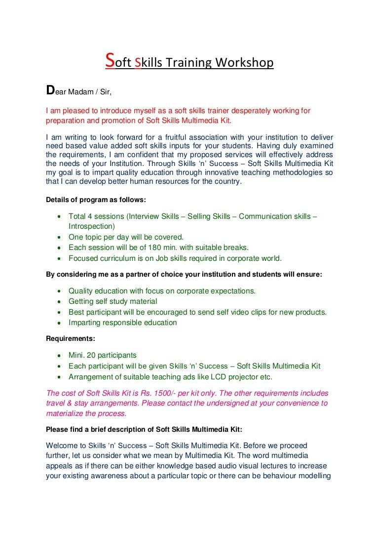 soft skills cv example - Akba.greenw.co