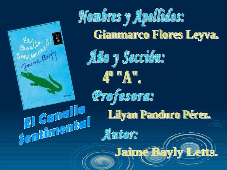 Jaime Bayly El Canalla Sentimental Jaime bayly entrevistó a silvia núñez del arco y a su madre. jaime bayly el canalla sentimental