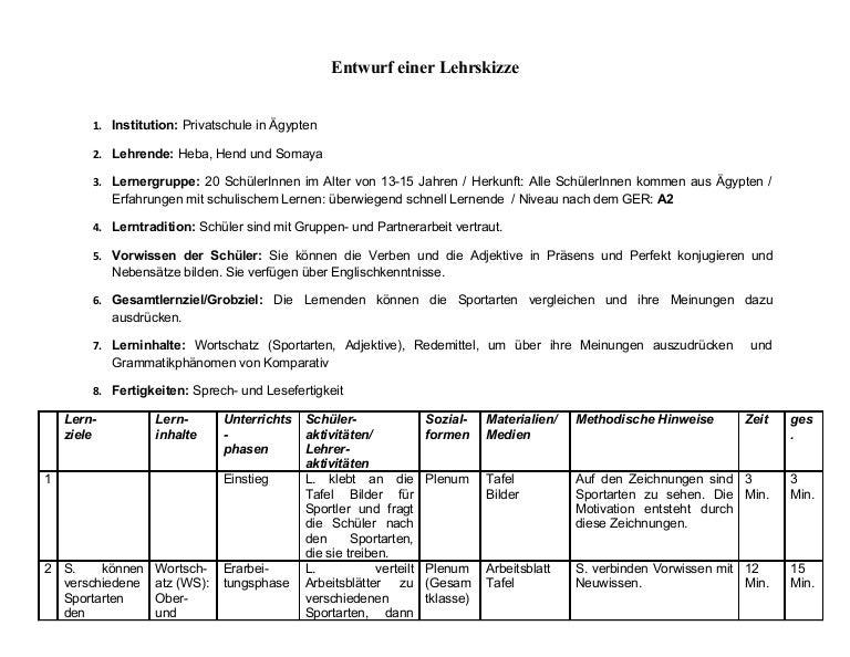 Niedlich Vorlage Unterrichtspläne Ideen - Dokumentationsvorlage ...