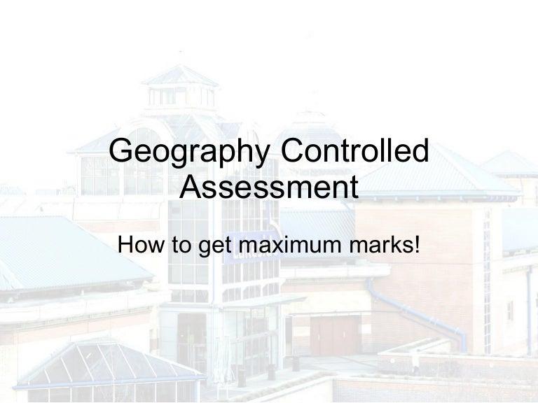 geography gcse case study