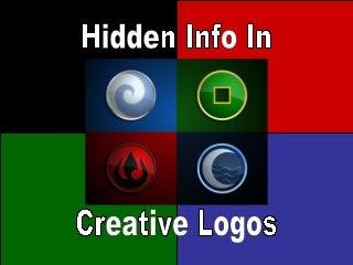 Hidden Info In Creative Logos