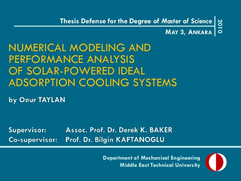 Phd thesis presentation