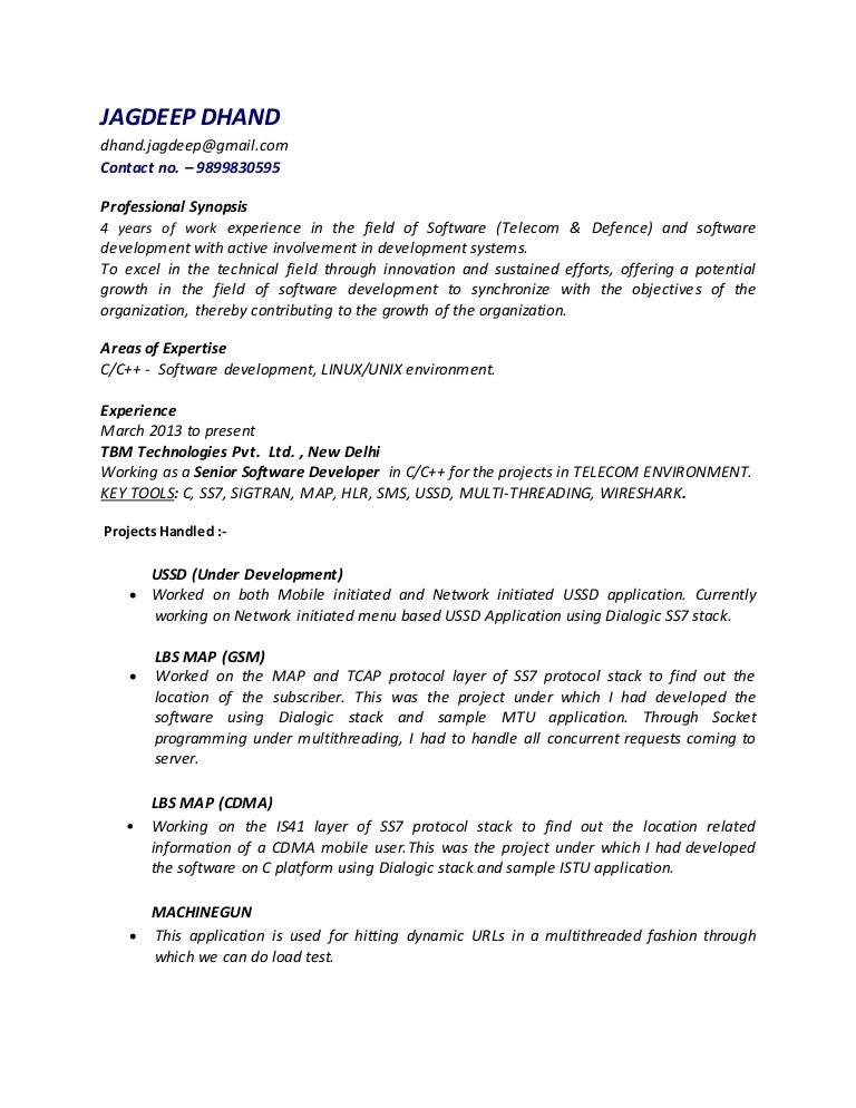 Resume of Jagdeep_Dhand