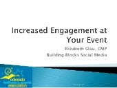 Increase Engagement at Your Event