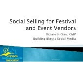 Social Selling for Event Vendors