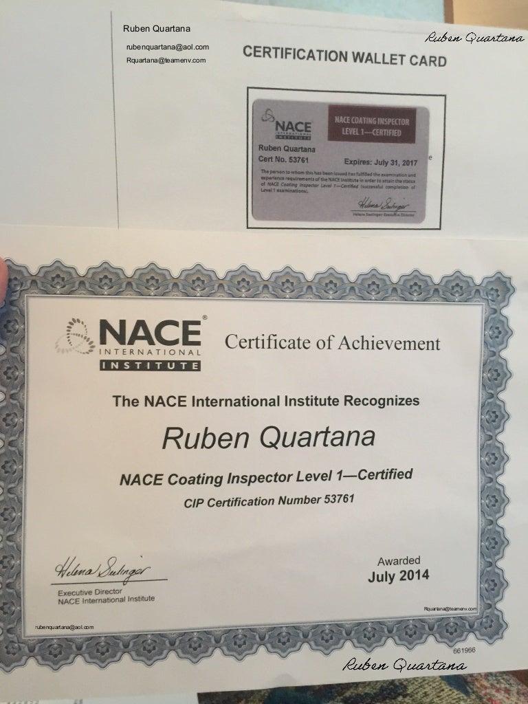 Nace certified 53761 xflitez Gallery