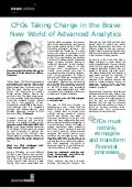 CFOs Taking Charge in the Brave New World of Advanced Analytics - Christian Gheorghe, Tidemark
