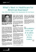 What's Next in Healthcare for American Business?  How CFOs Can Prepare their Organization for the Future - Robert Kolodgy, Blue Cross Blue Shield Association