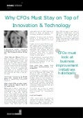 Why CFOs Must Stay on Top of Innovation & Technology - Dorinda Abendschein, Brinks, Inc.