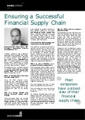 Ensuring a Successful Financial Supply Chain - Oliver Belin, PrimeRevenue, Inc.