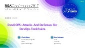 DevOOPS: Attacks and Defenses for DevOps Toolchains