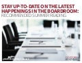 Stay Up To Date on the Latest Happenings in the Boardroom: Recommended Summer Reading