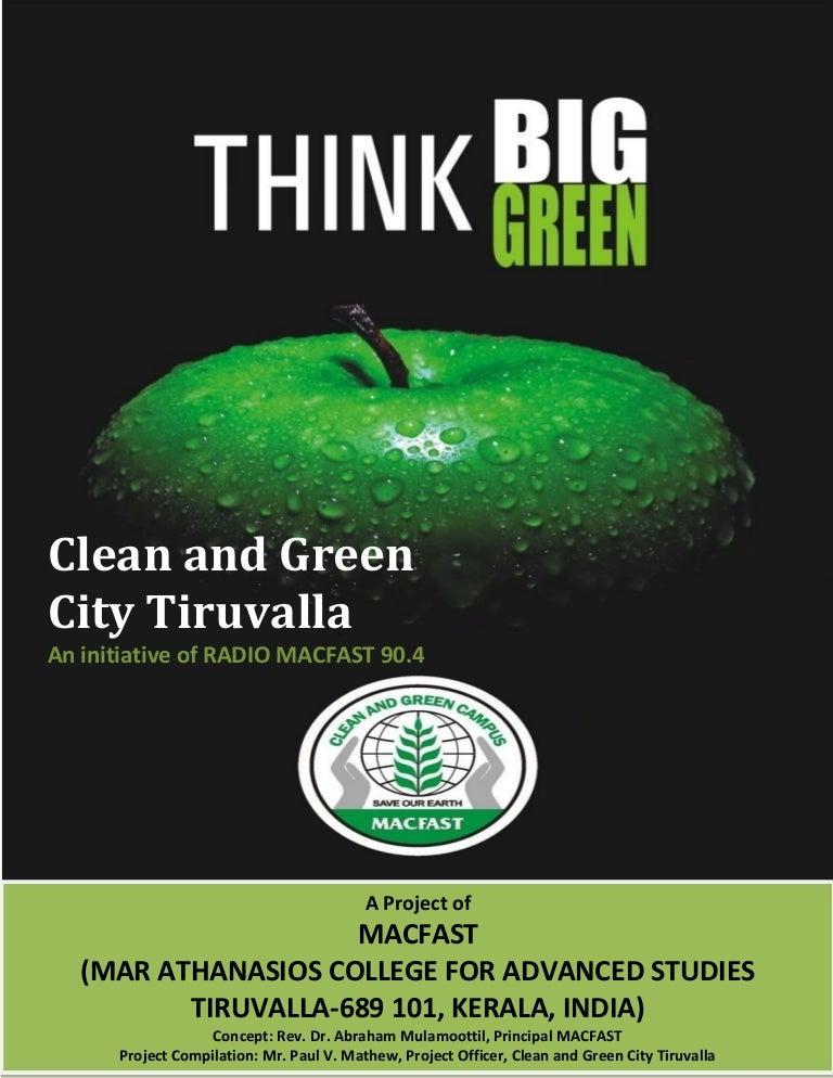 Essay on green kerala