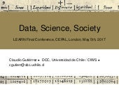 Data, Science, Society - Claudio Gutierrez, University of Chile