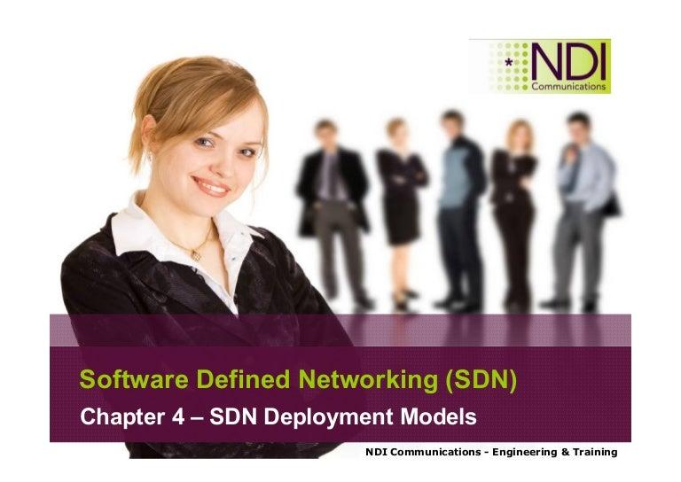 Ch 04 Sdn Deployment Models