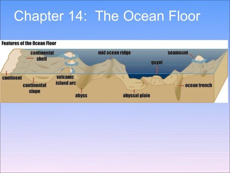 Ch 14 The Ocean Floor