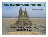 Goetech. engg. Ch# 03 settlement analysis signed