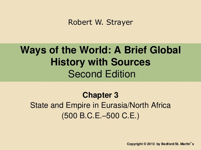 ways of the world second edition