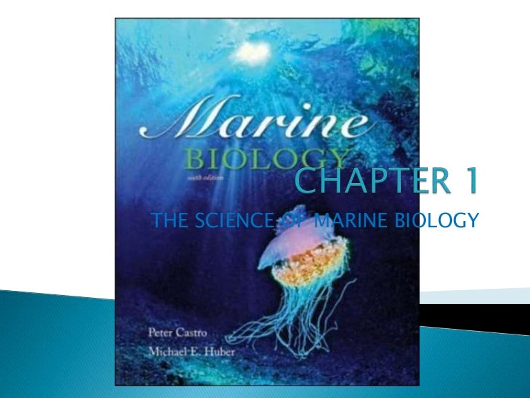 Marine Biology Book