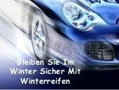 Bleiben Sie Im Winter Sicher Mit Winterreifen