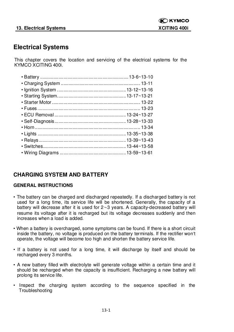 Ch13 Electrical Systems Here Is Your Wiring Diagram With The Ignition Switch Starter Feature