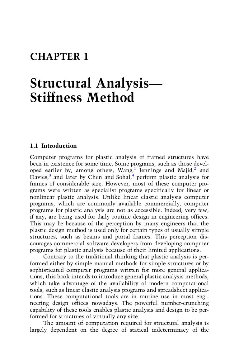 Frames Besides Bending Moment Diagram Frame On Ch 1 Structural Analysis Stiffness Method