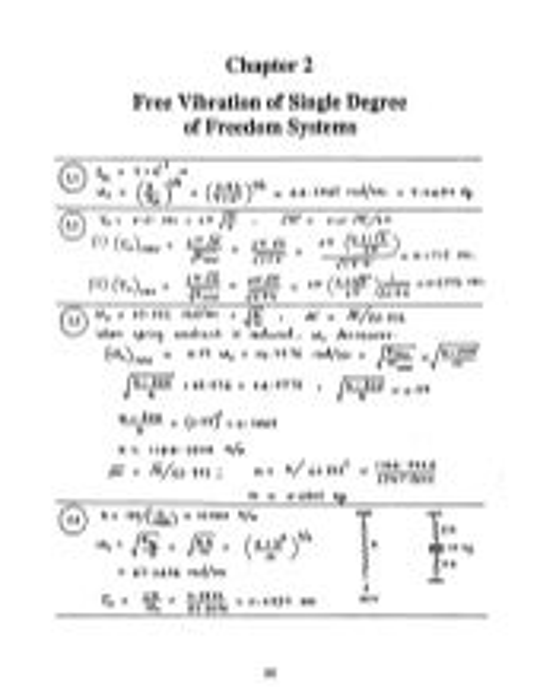 solution manual by rao mechanical vibrations 4th ed rh slideshare net Mechanical Vibration Notes Mechanical Vibration for Femals