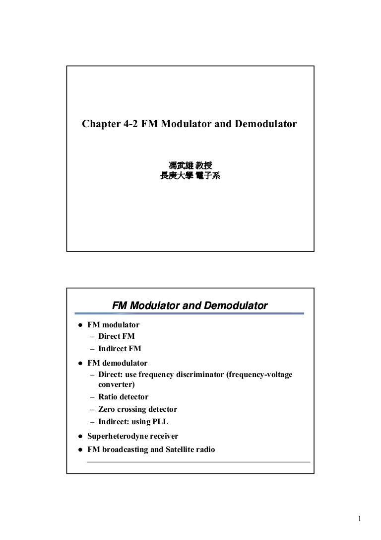 Ch4 2 Fm Modulator And Demodulator15 Envelope Detector Circuit Output