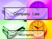 Ppt on company law (Approved)