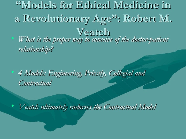 physician patient relationship model