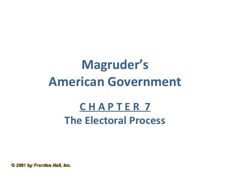 Ch7 Electoral Process