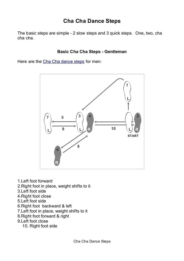 Chachadancesteps Phpapp Thumbnail on Box Step Dance Diagram