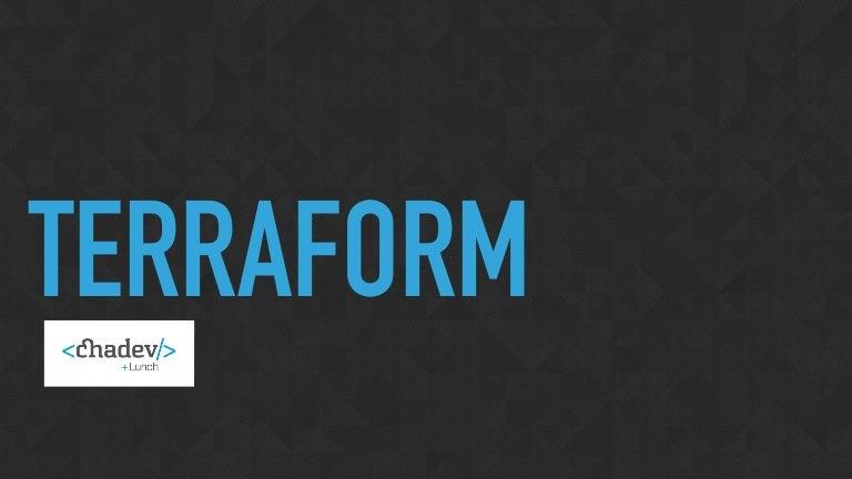 Terraform: An Overview & Introduction