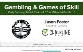 Chalkline Sports - BiG Africa Summit - Gambling vs. Games of Skill